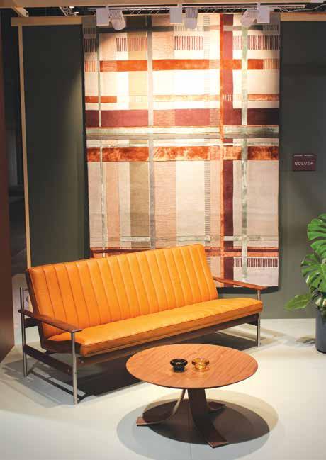 Volver og Fjordfiesta samarbeid i Skandinavisk design på Oslo Design Fair.