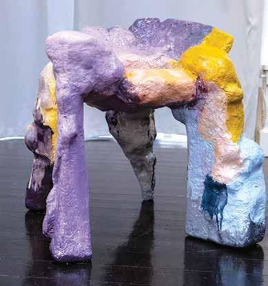 Stol eller skulptur? Av Oliver Sundquist og Fredrik Nystrup Larsen