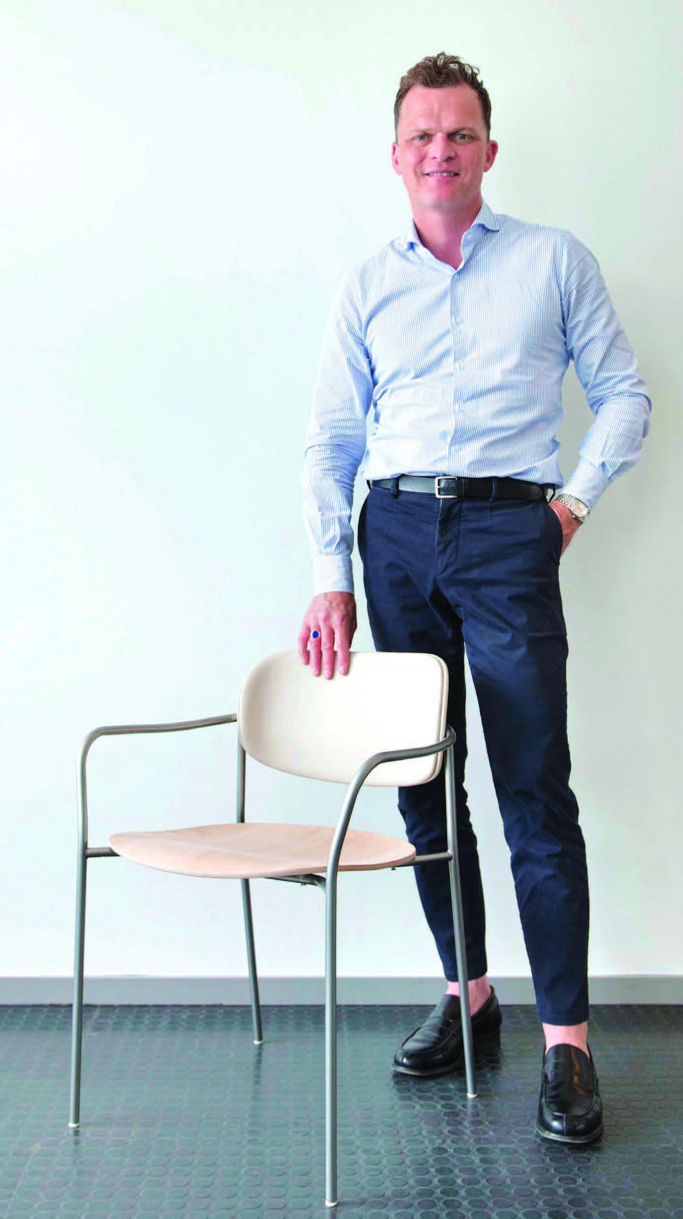 Andreas Engesvik. Foto: Ken Opprann/Statsbygg