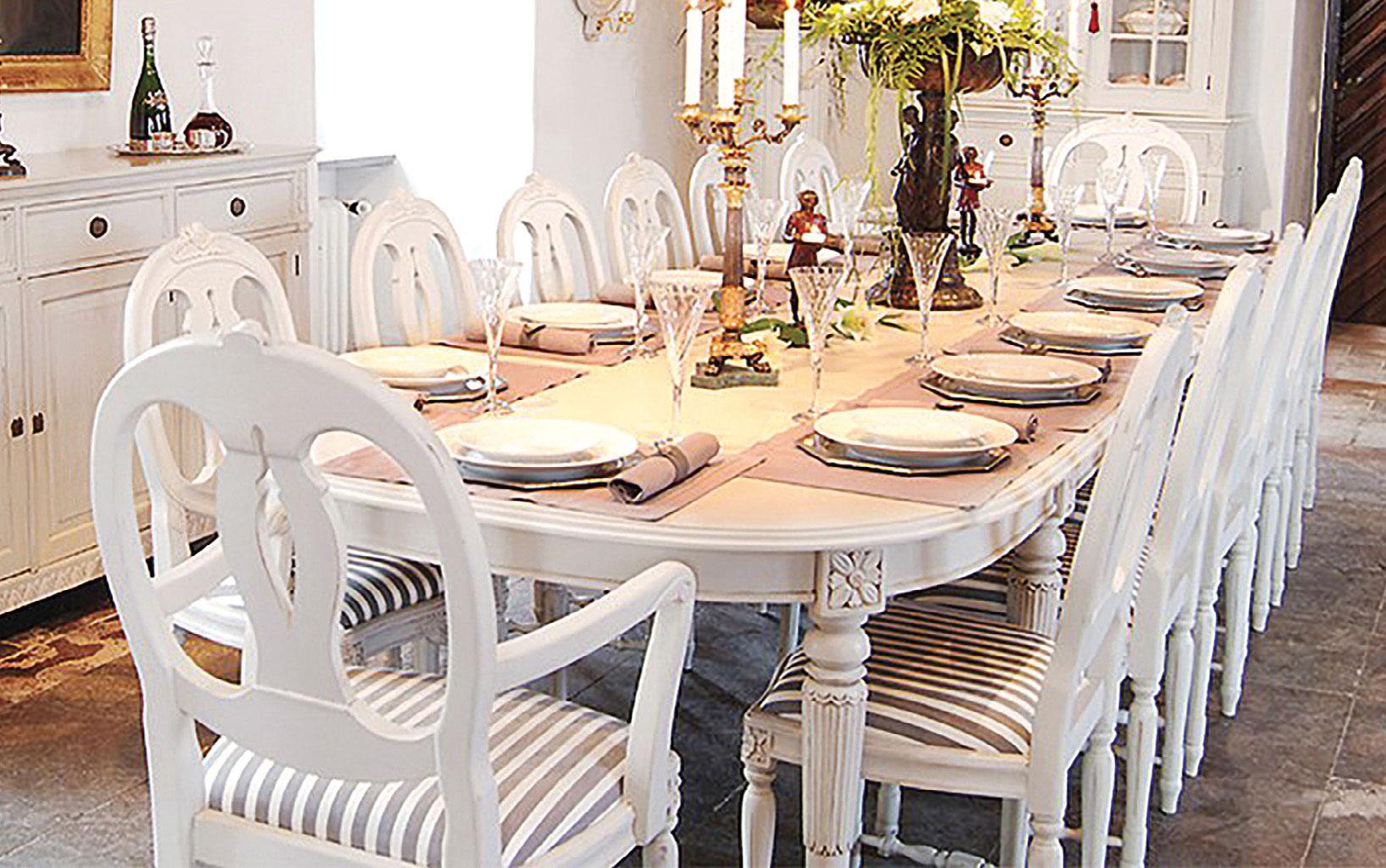 Spisestuen Rosen - middag for 14