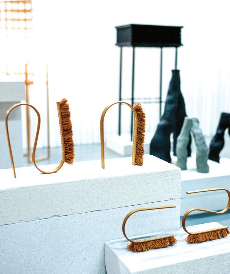 Unge norske designere var representert ved Fold - Oslo. Til sammen 15 norske selskap var representert.